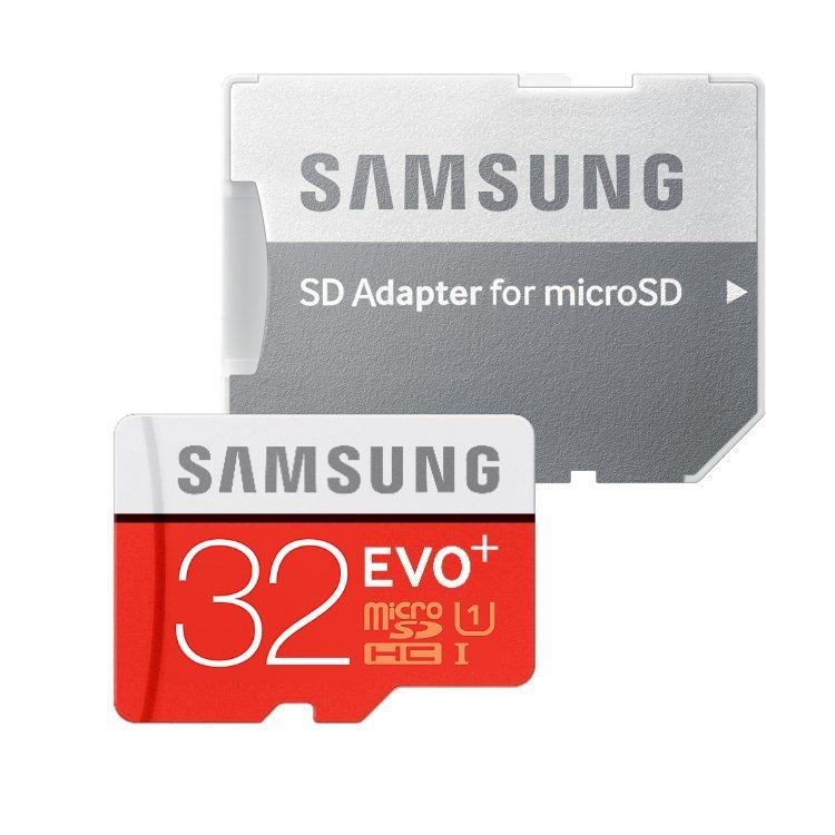 Samsung Micro SDHC EVO Plus 32GB + SD adaptér, Class 10 - rýchlosť 80 MB/s (MB-MC32DA/EU)