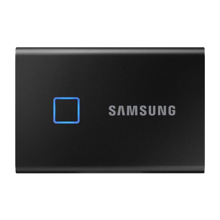 Samsung SSD T7 Touch, 2TB, USB 3.2 - rýchlosť 1050/1000 MB/s (MU-PC2T0K/WW), Black MU-PC2T0K/WW