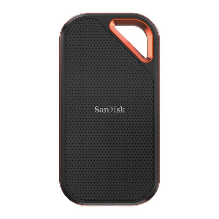 Sandisk Extreme Pro Portable SSD, 2TB, USB-C 3.1 - rýchlosť 1050 MB/s (SDSSDE80-2T00-G25) SDSSDE80-2T00-G25