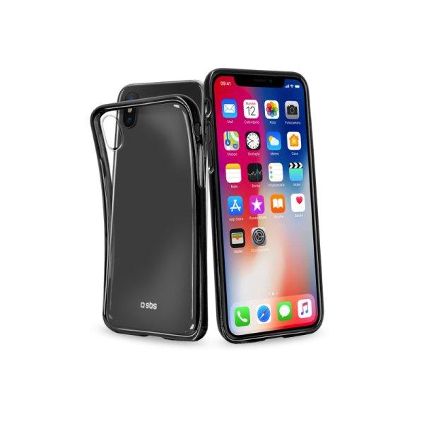 Puzdro SBS Extraslim pre Apple iPhone X, čierne TECOVERSLIMIPXK