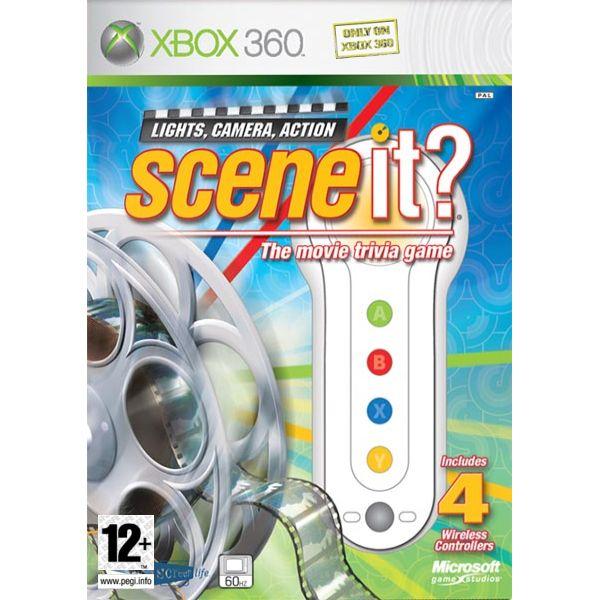Scene it?: Light, Camera, Action + ovládače XBOX 360