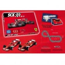 SCX C3 F-1 Schumacher vs Barrichello autodráha
