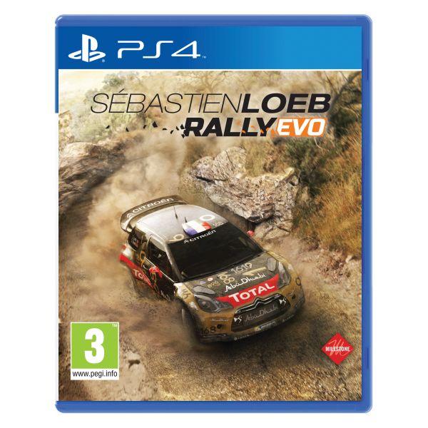 Sébastien Loeb Rally Evo [PS4] - BAZÁR (použitý tovar)