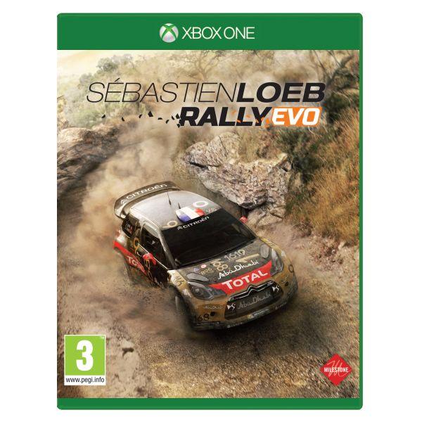 Sébastien Loeb Rally Evo [XBOX ONE] - BAZÁR (použitý tovar)
