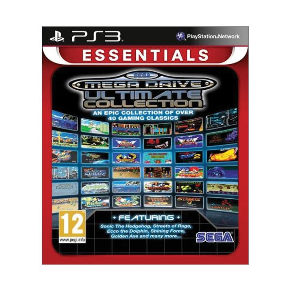 SEGA Mega Drive Ultimate Collection [PS3] - BAZ�R (pou�it� tovar)