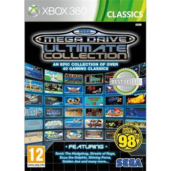 SEGA Mega Drive Ultimate Collection [XBOX 360] - BAZÁR (použitý tovar)