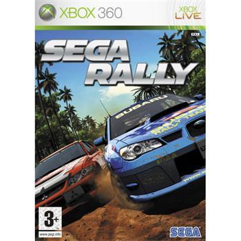 SEGA Rally- XBOX 360- BAZÁR (použitý tovar)