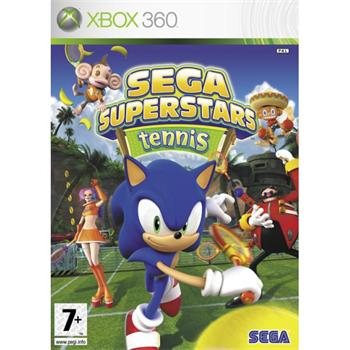 SEGA Superstars Tennis- XBOX 360- BAZ�R (pou�it� tovar)
