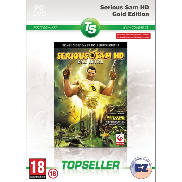 Serious Sam HD CZ (Gold Edition)