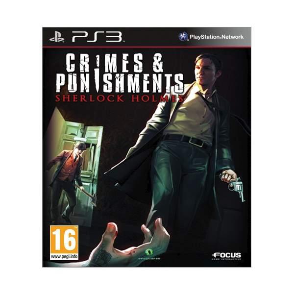 Sherlock Holmes: Crimes & Punishments [PS3] - BAZÁR (použitý tovar)