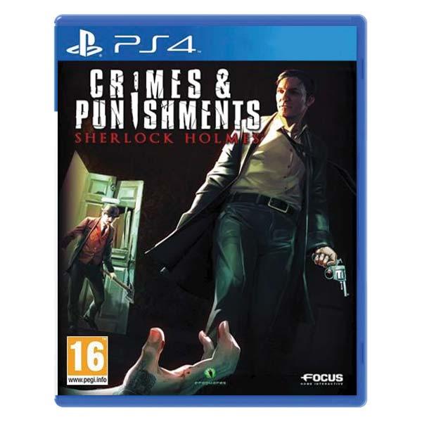 Sherlock Holmes: Crimes & Punishments [PS4] - BAZÁR (použitý tovar)