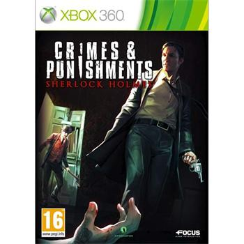 Sherlock Holmes: Crimes & Punishments [XBOX 360] - BAZ�R (pou�it� tovar)
