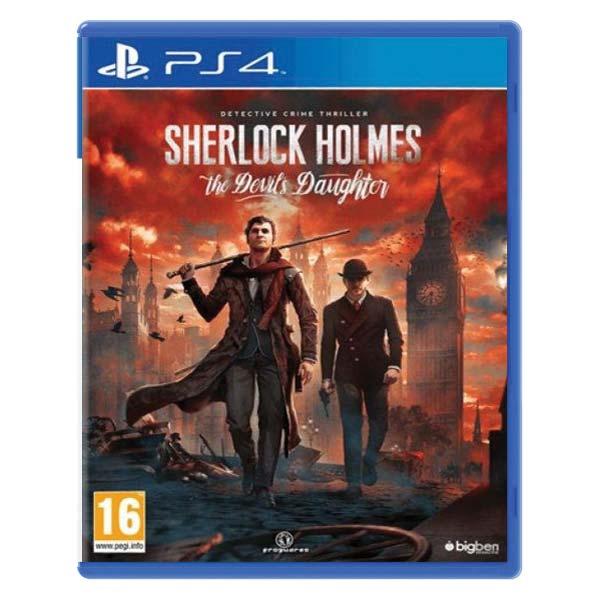 Sherlock Holmes: The Devil's Daughter [PS4] - BAZÁR (použitý tovar)