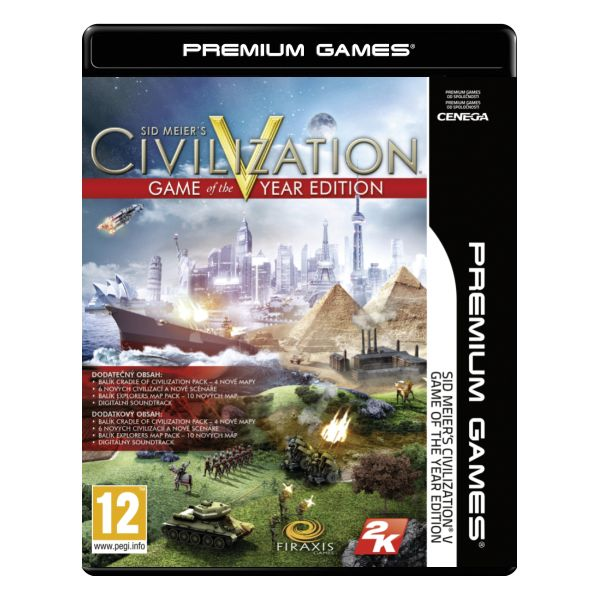 Sid Meier's Civilization 5 (Game of the Year Edition) PC