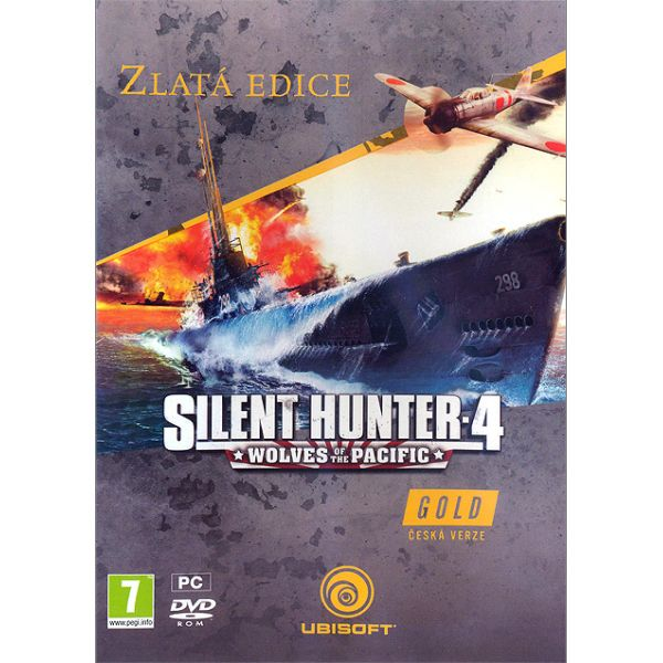 Silent Hunter 4: Wolves of the Pacific CZ (Zlat� Ed�cia)
