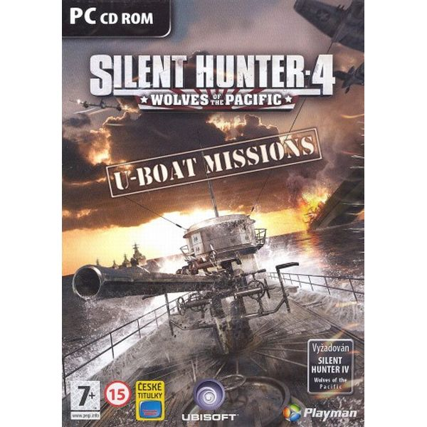 Silent Hunter 4 Wolves of the Pacific: U-boat Missions CZ