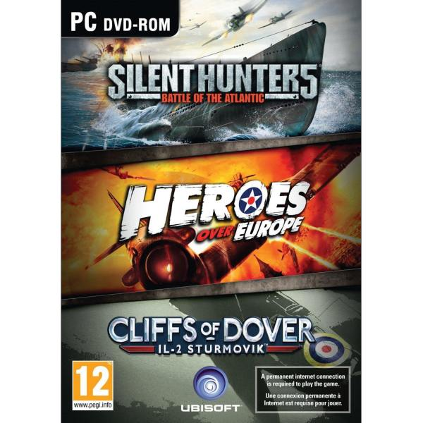 Silent Hunter 5: Battle of the Atlantic + Heroes over Europe + IL-2 Sturmovik: Cliffs of Dover PC