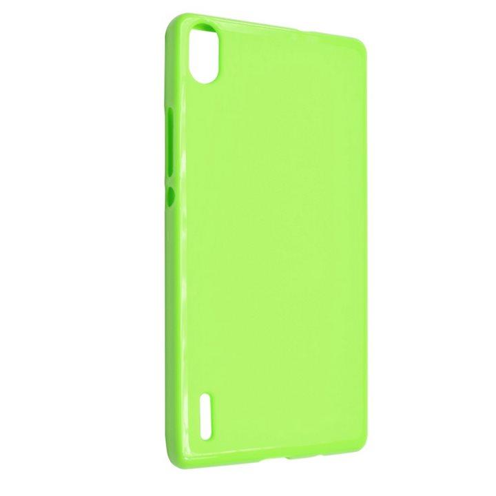 Silikonové puzdro Fixed TPU pre Huawei Ascend P7, Green
