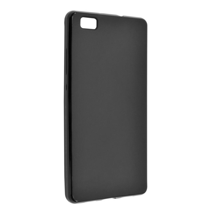 Silikonové puzdro Fixed TPU pre Huawei P8 Lite, Black