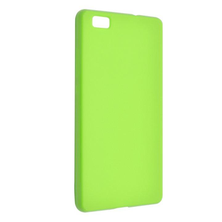 Silikonové puzdro Fixed TPU pre Huawei P8 Lite, Green