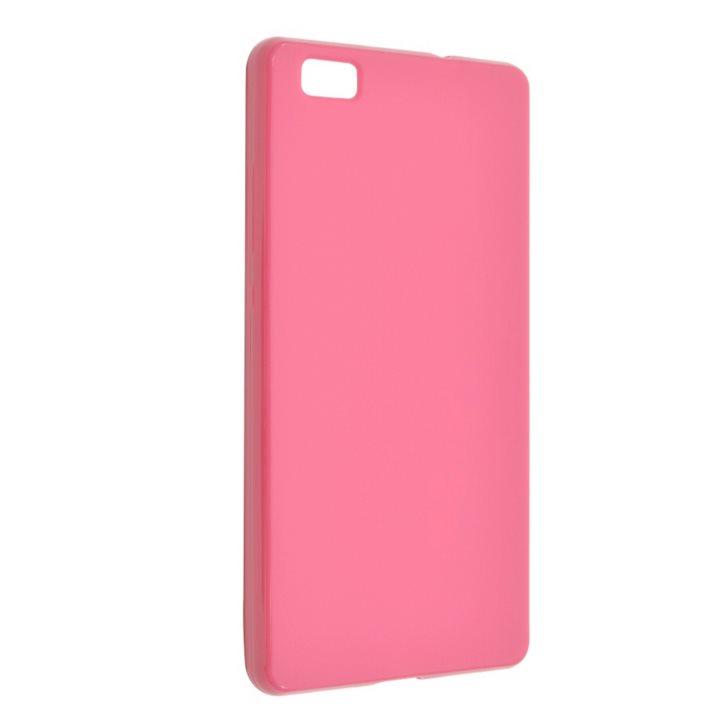 Silikonové puzdro Fixed TPU pre Huawei P8 Lite, Pink