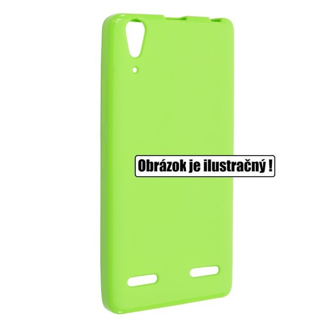 Silikonové puzdro Fixed TPU pre Lenovo A7010, Green