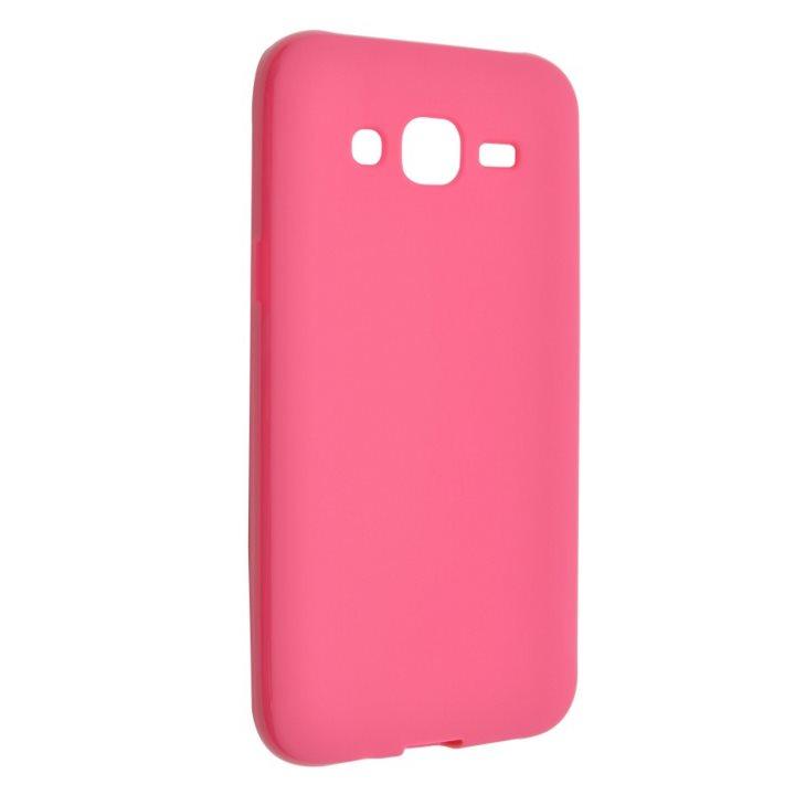 Silikonové puzdro Fixed TPU pre Samsung Galaxy J5 - J500, Pink