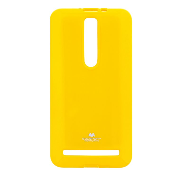 Silikónové puzdro Jelly Mercury pre Asus Zenfone 2 - ZE551ML, Yellow