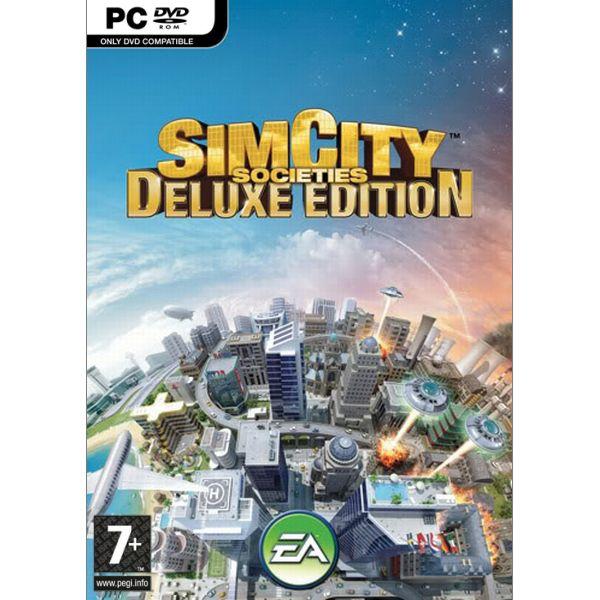 SimCity Spoločnosť: Deluxe Edition CZ