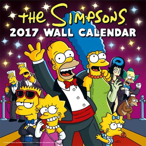 Simpsons Kalendár 2017