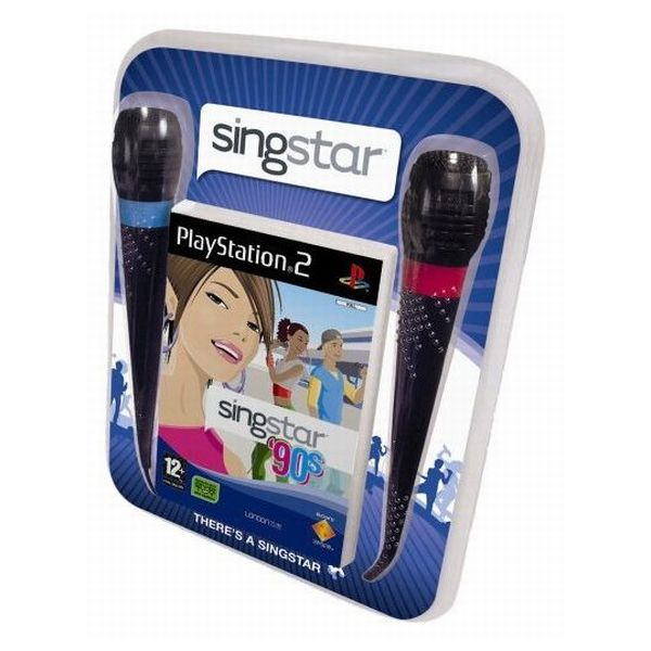 SingStar 90's + mikrofóny