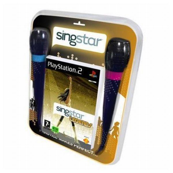 SingStar Legends + mikrofóny