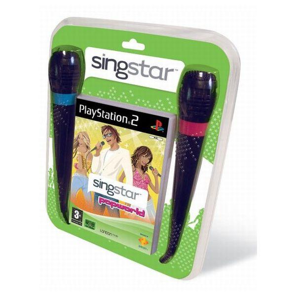 SingStar Popworld + mikrofóny