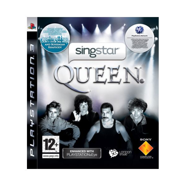SingStar Queen [PS3] - BAZ�R (pou�it� tovar)