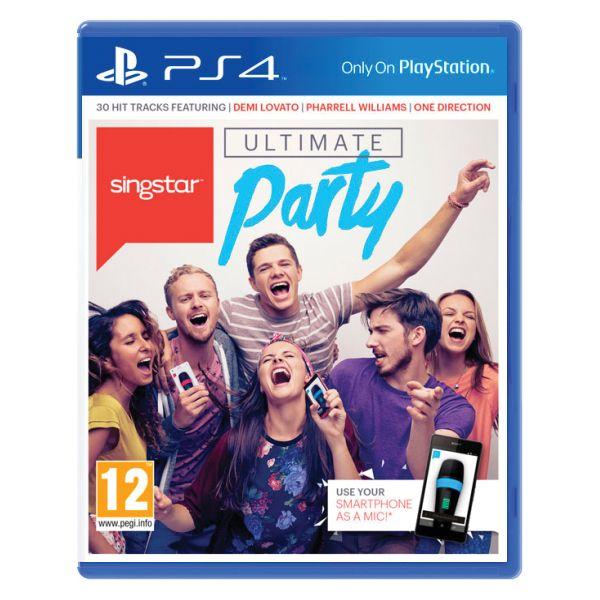Singstar: Ultimate Party [PS4] - BAZÁR (použitý tovar)