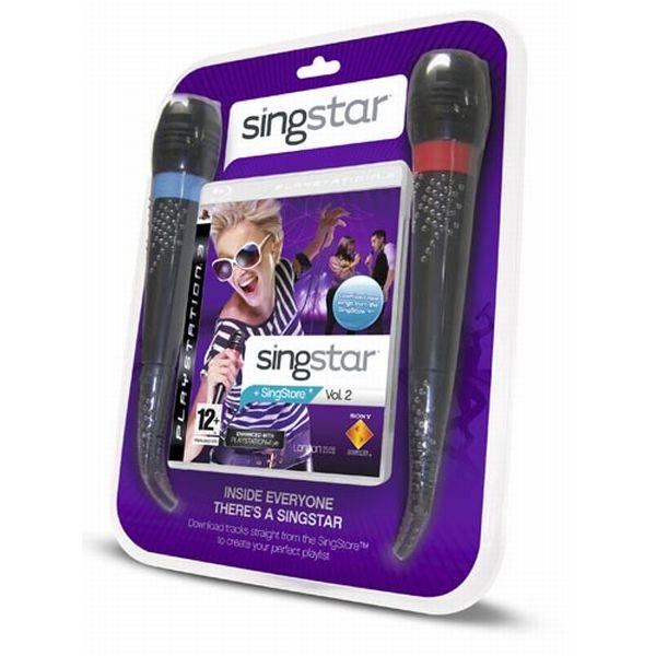 SingStar Vol.2 + mikrofóny