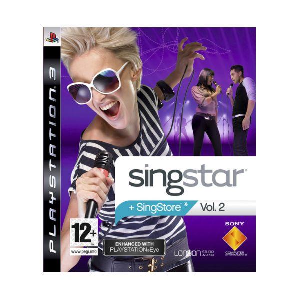 SingStar Vol.2 [PS3] - BAZÁR (použitý tovar)