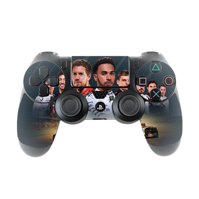 Skin na Dualshock 4 s motívom hry F1 2017
