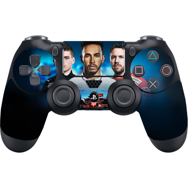Skin na Dualshock 4 s motívom hry F1 2018: The Official Videogame