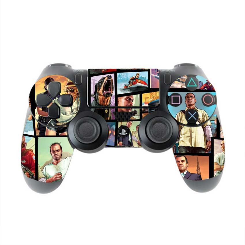 Skin na Dualshock 4 s motívom hry Grand Theft Auto 5