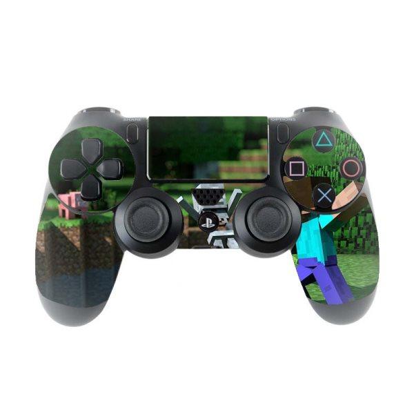 Skin na Dualshock 4 s motívom hry Minecraft