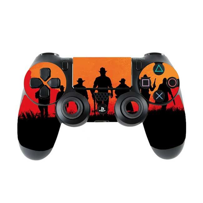 Skin na Dualshock 4 s motívom hry Red Dead Redemption 2