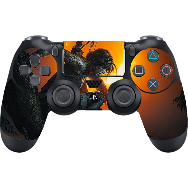 Skin na Dualshock 4 s motívom hry Shadow of the Tomb Raider