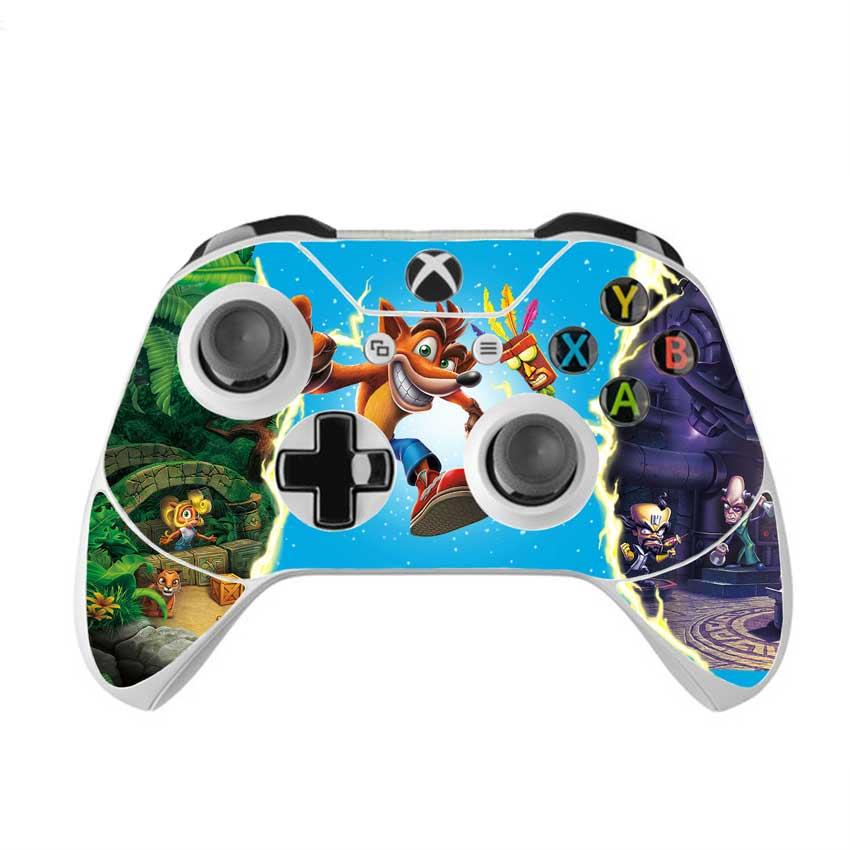 Skin na Xbox One Controller s motívom hry Crash Bandicoot N.Sane Trilogy