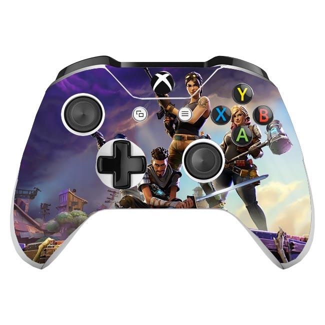 Skin na Xbox One Controller s motívom hry Fortnite