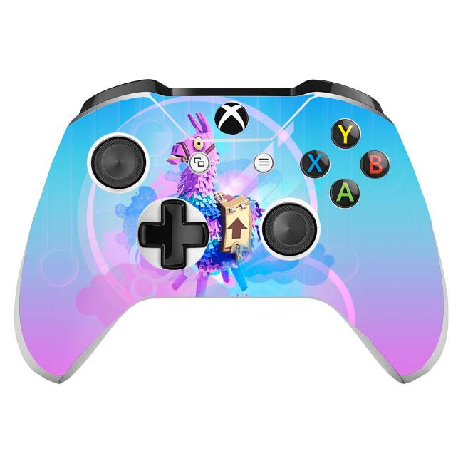 Skin na Xbox One Controller s motívom hry Fortnite v4