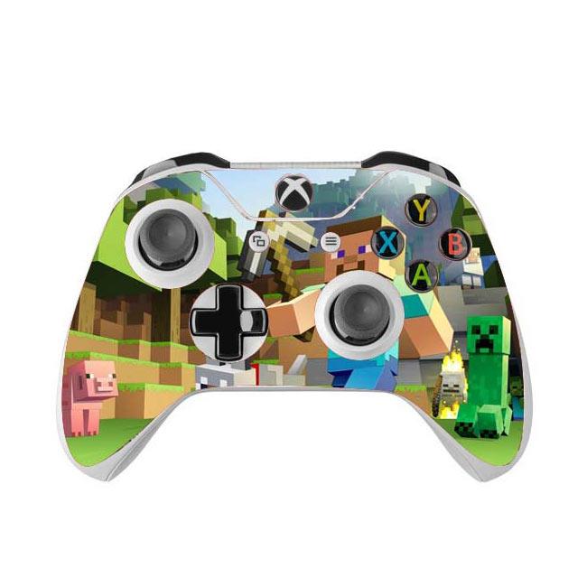Skin na Xbox One Controller s motívom hry Minecraft