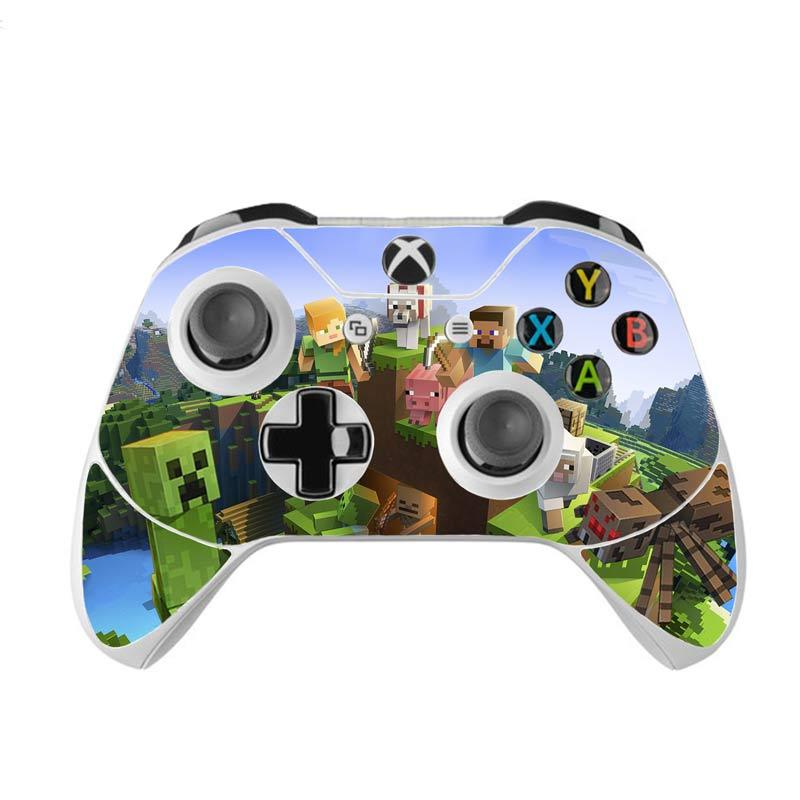 Skin na Xbox One Controller s motívom hry Minecraft v2