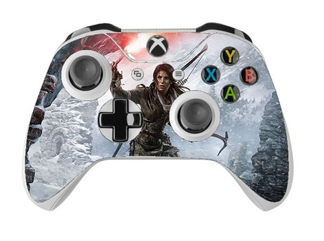 Skin na Xbox One Controller s motívom hry Rise of the Tomb Raider