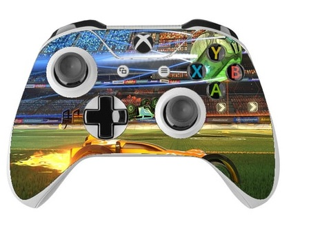 Skin na Xbox One Controller s motívom hry Rocket League